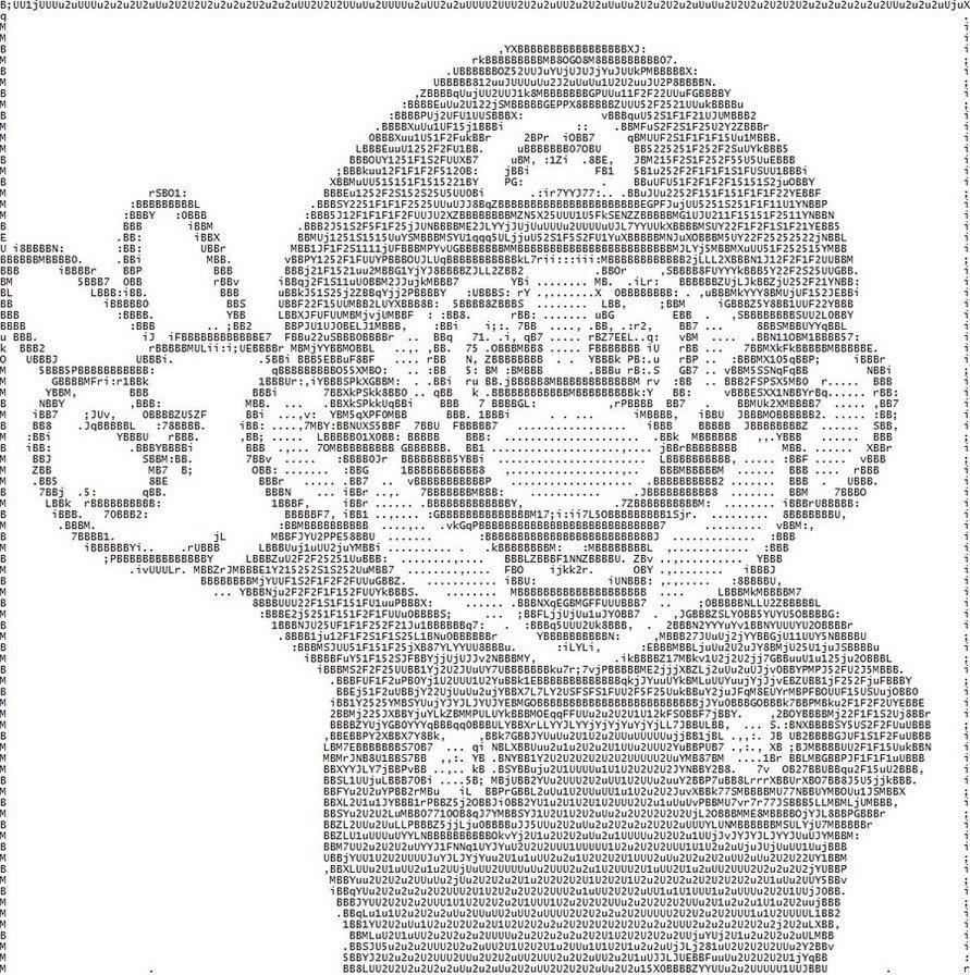 ASCII Mario | ASCII Art | Ascii art, Tag art, Art