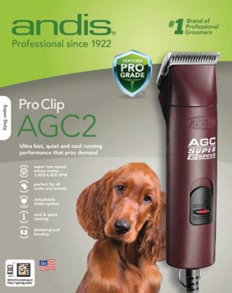 Andis Agc Super Two Speed Clipper Dog Clippers Dog Grooming Tools Diy Dog Stuff