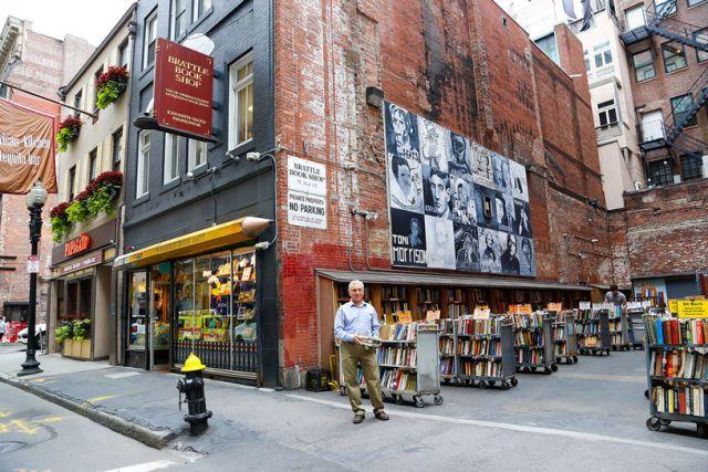 Brattle Book Shop in Boston, Massachusetts