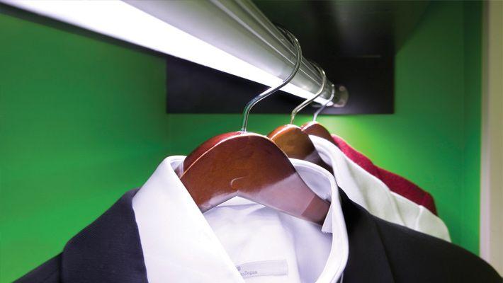Illuminate Your Closet The Smart Way   Io LED Closet Rod Lights The Way.