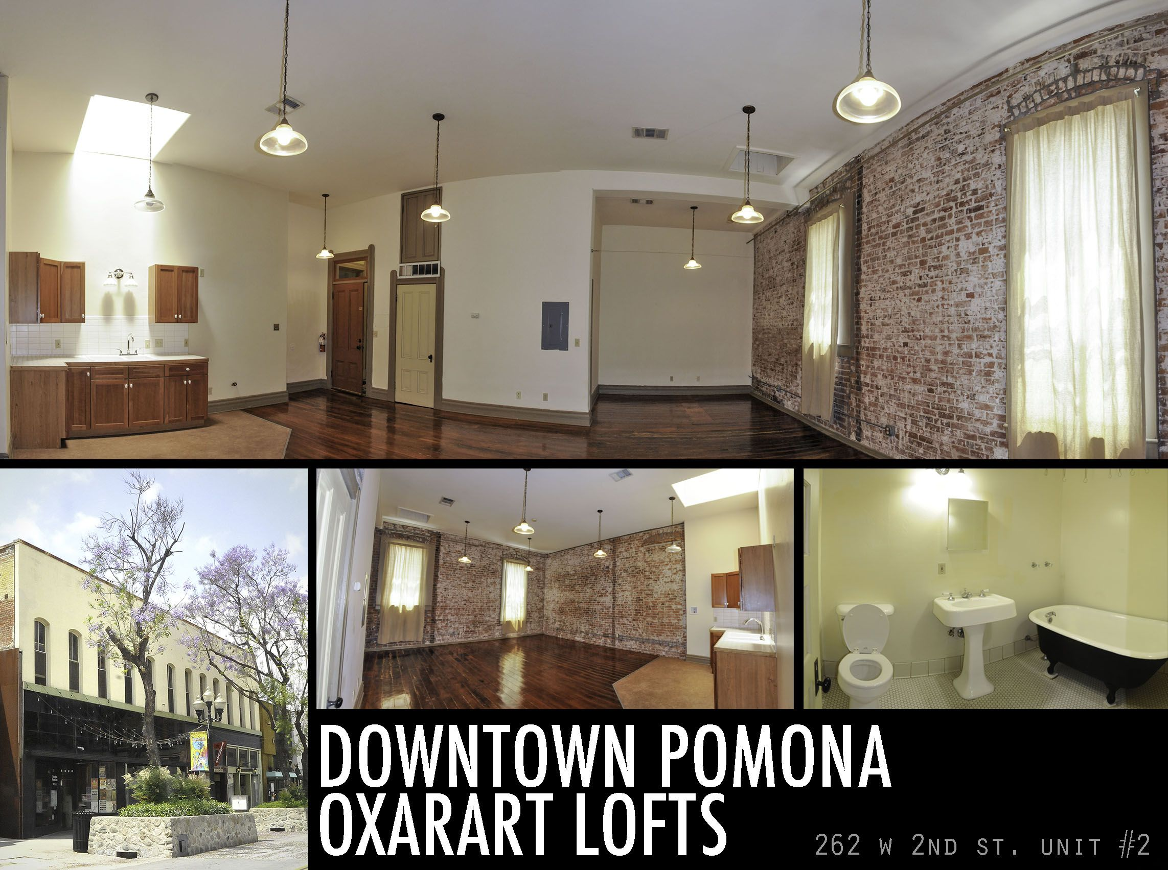 Oxarart Lofts In Downtown Pomona  Ca  Loft Living  Historic Building  Loft With Historic Charm