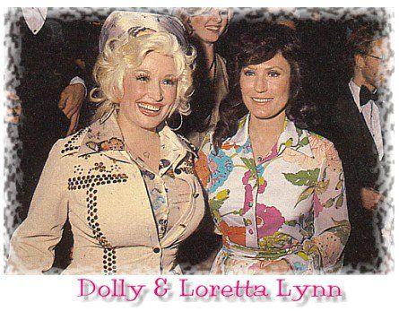 Dolly Parton with Loretta Lynn @ the CMA Awards