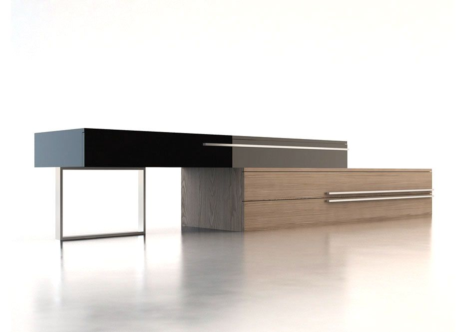 Modern design tv console for the home pinterest for Stylish tv stands furniture
