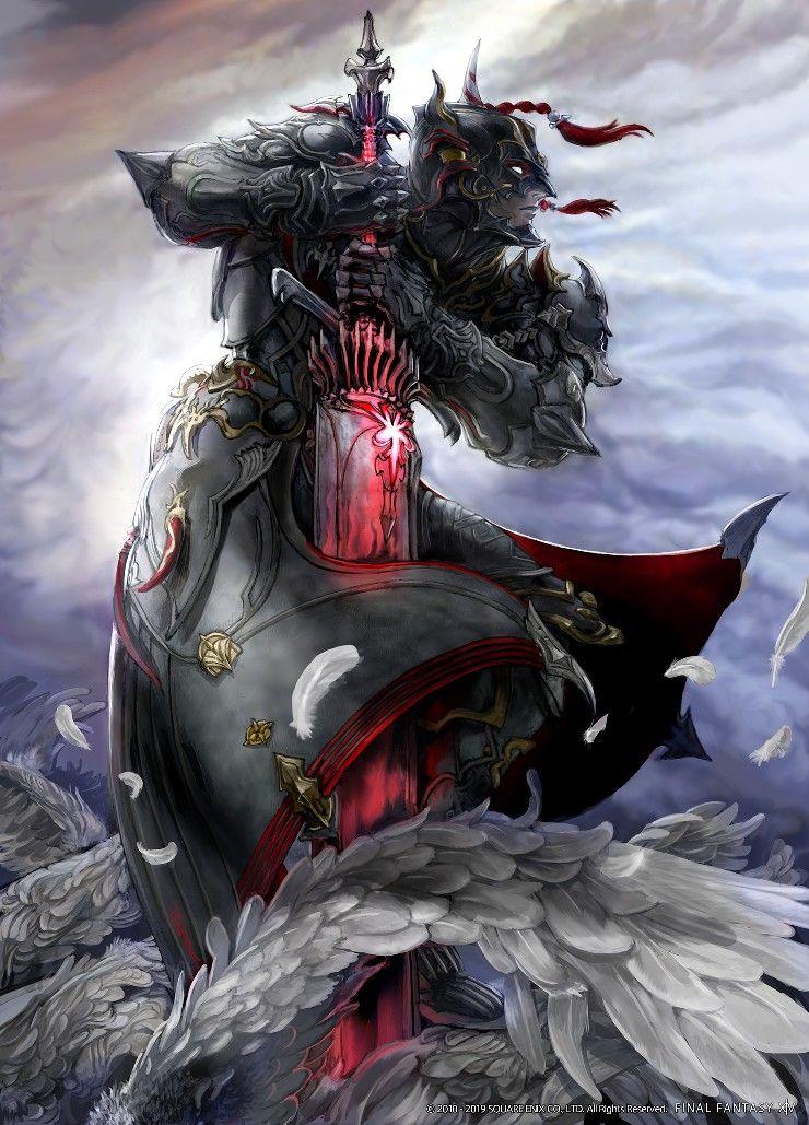 Ffxiv Dark Knight Final Fantasy Art Final Fantasy Artwork Final Fantasy Xiv
