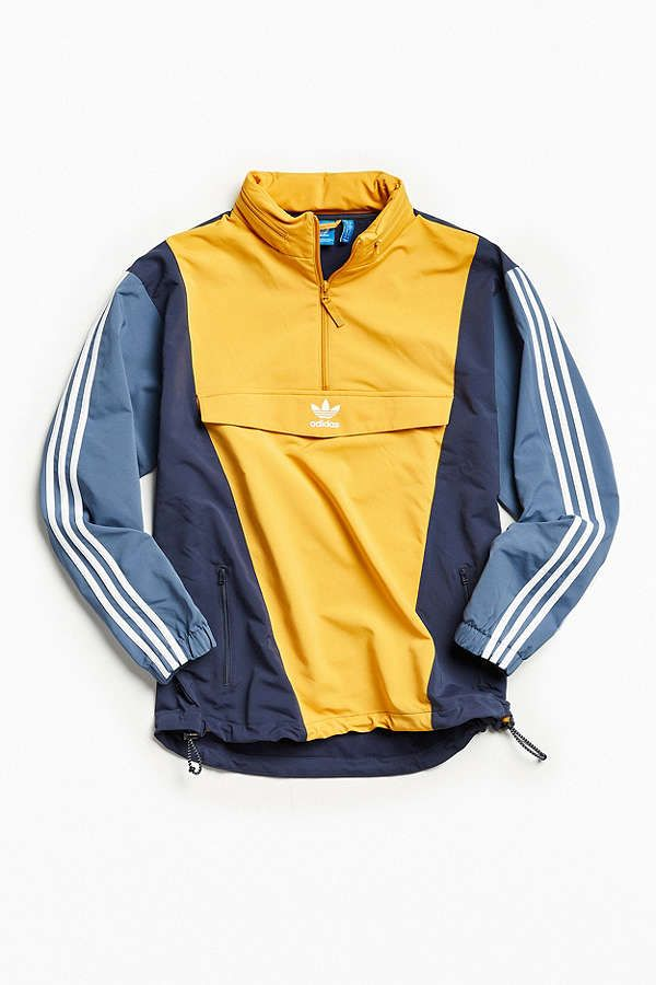 Slide View: 1: adidas Colorblocked Anorak Jacket | Adidas