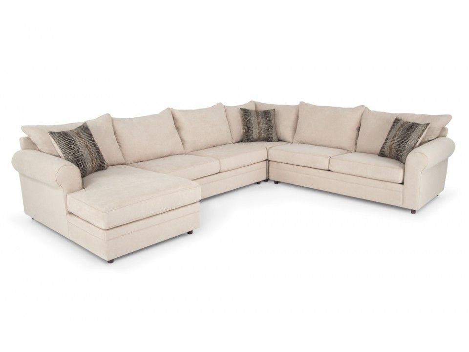 Venus Ii 4 Piece Right Arm Facing Sectional Living Room