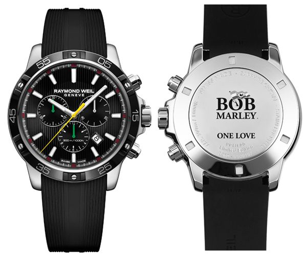 56075fd840ab Swiss watchmaker Raymond Weil has teamed up with House of Marley to produce  a Bob Marley