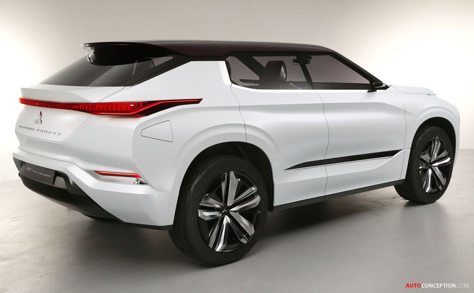 Mitsubishi Gt Phev Concept Officially Revealed Mitsubishi Concept Car Design Concept Cars
