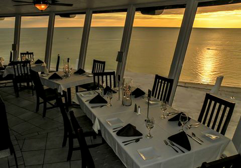 Spinners Restaurant St Pete Beach Rooftop Revolving Bistro And Lounge