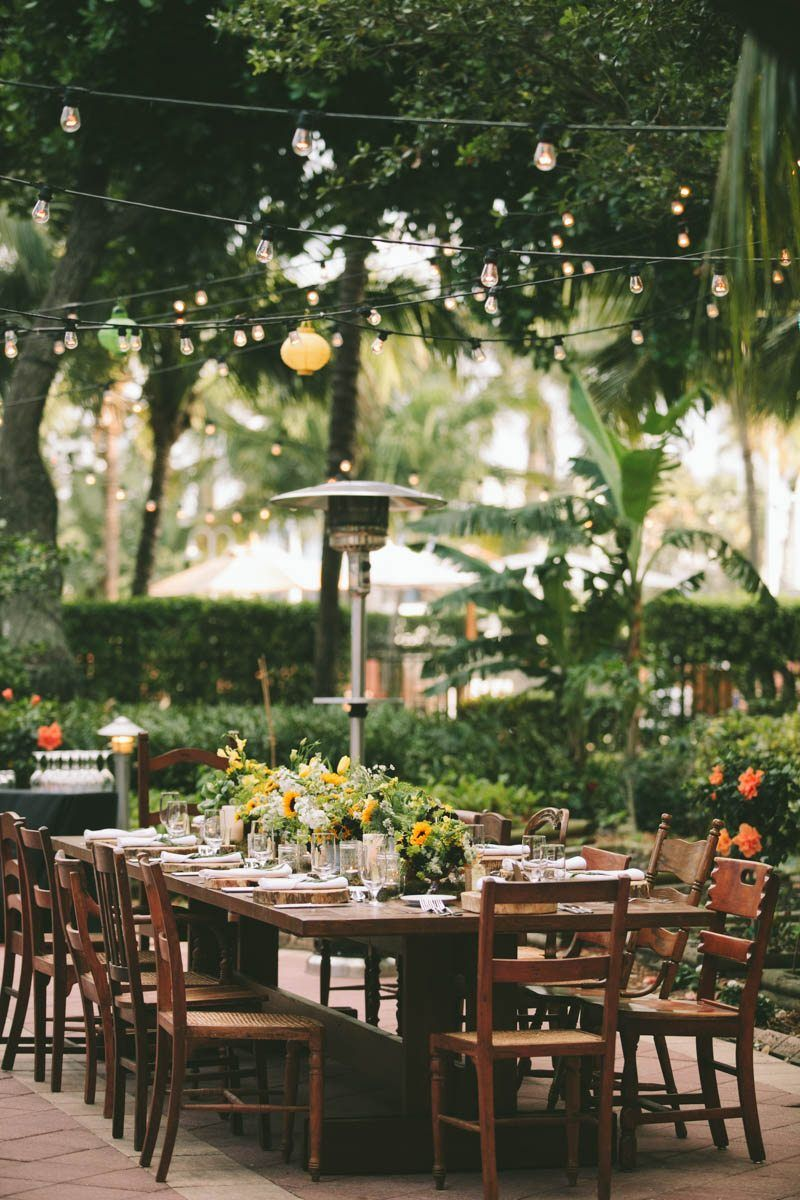 Al Fresco Rehearsal Dinner Inspiration at West Palm Beach Marriott ...