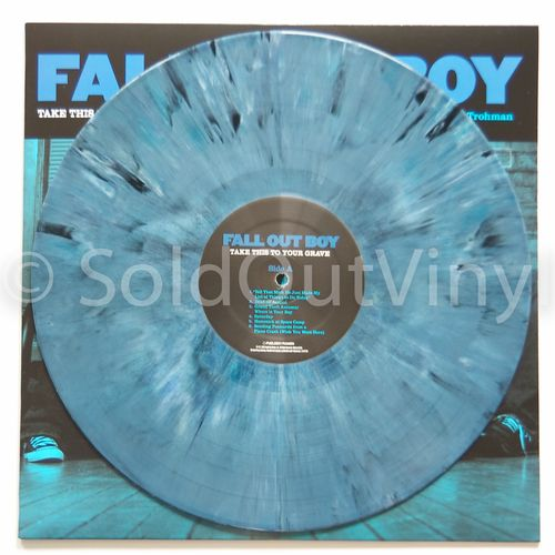 Fall Out Boy Take This To Your Grave Vinyl Lp Blue