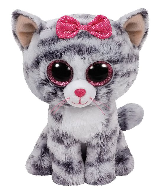 Kiki the Gray Cat Beanie Boo (With images) Boo plush