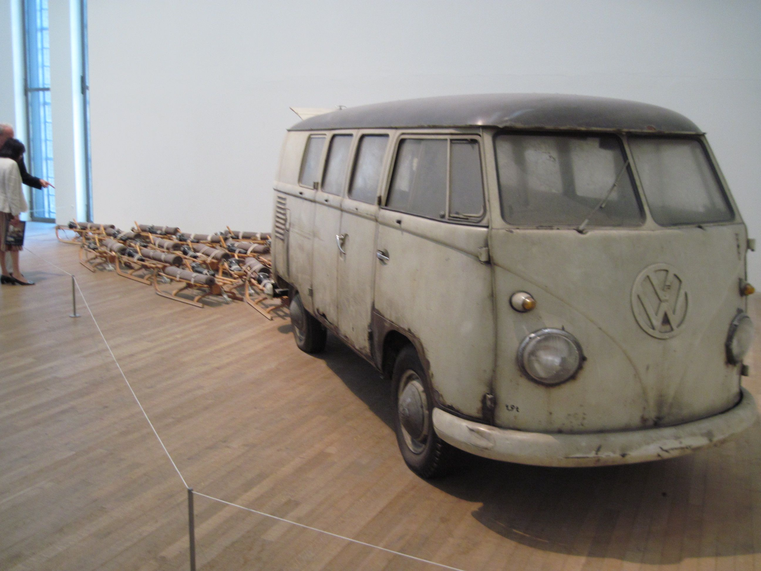"Joseph Beuys ""Das Rudel"" (The Pack) 1969 Recreational"