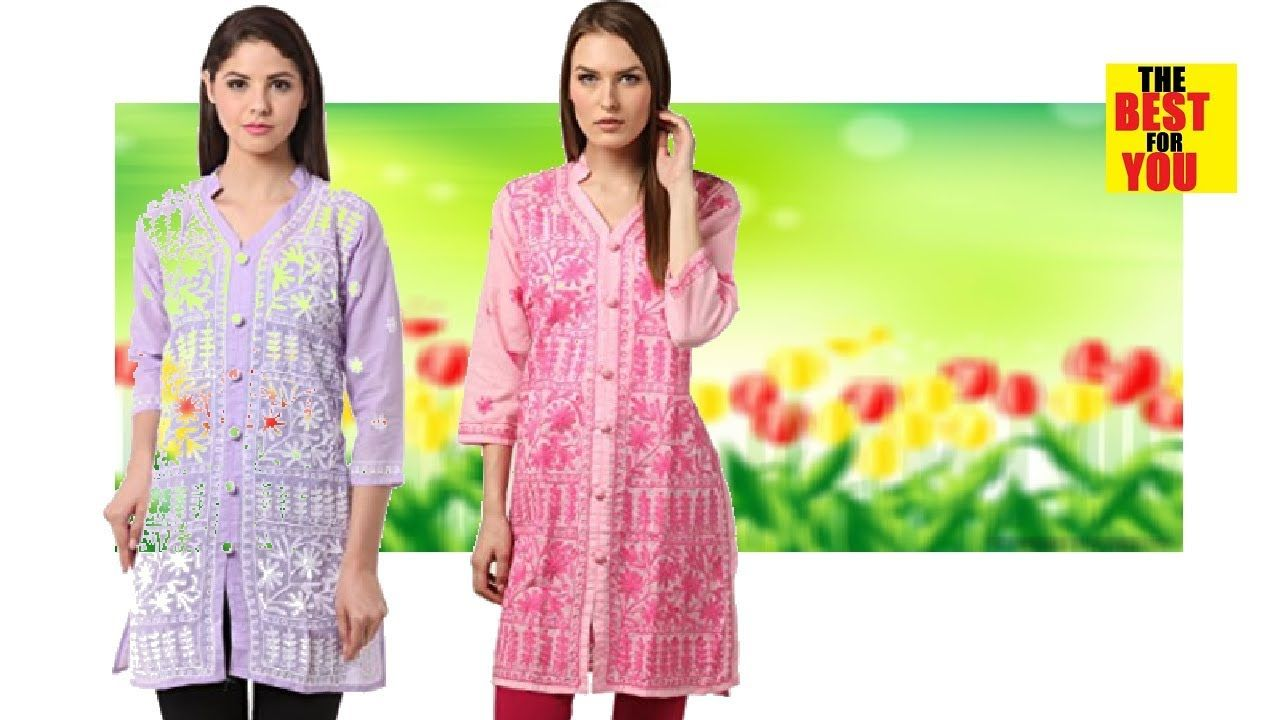 4cb64bc96e368 TOP 10 Latest Kurti Design Fashion Collections for Girls 2018 Indian dress  amazon shopping