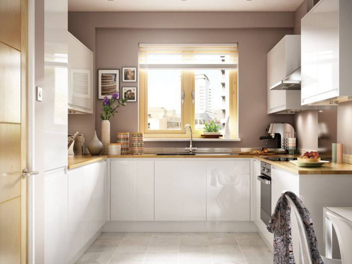 Miraculous Madison White Handle Less Kitchen Wickes Co Uk Beutiful Home Inspiration Truamahrainfo