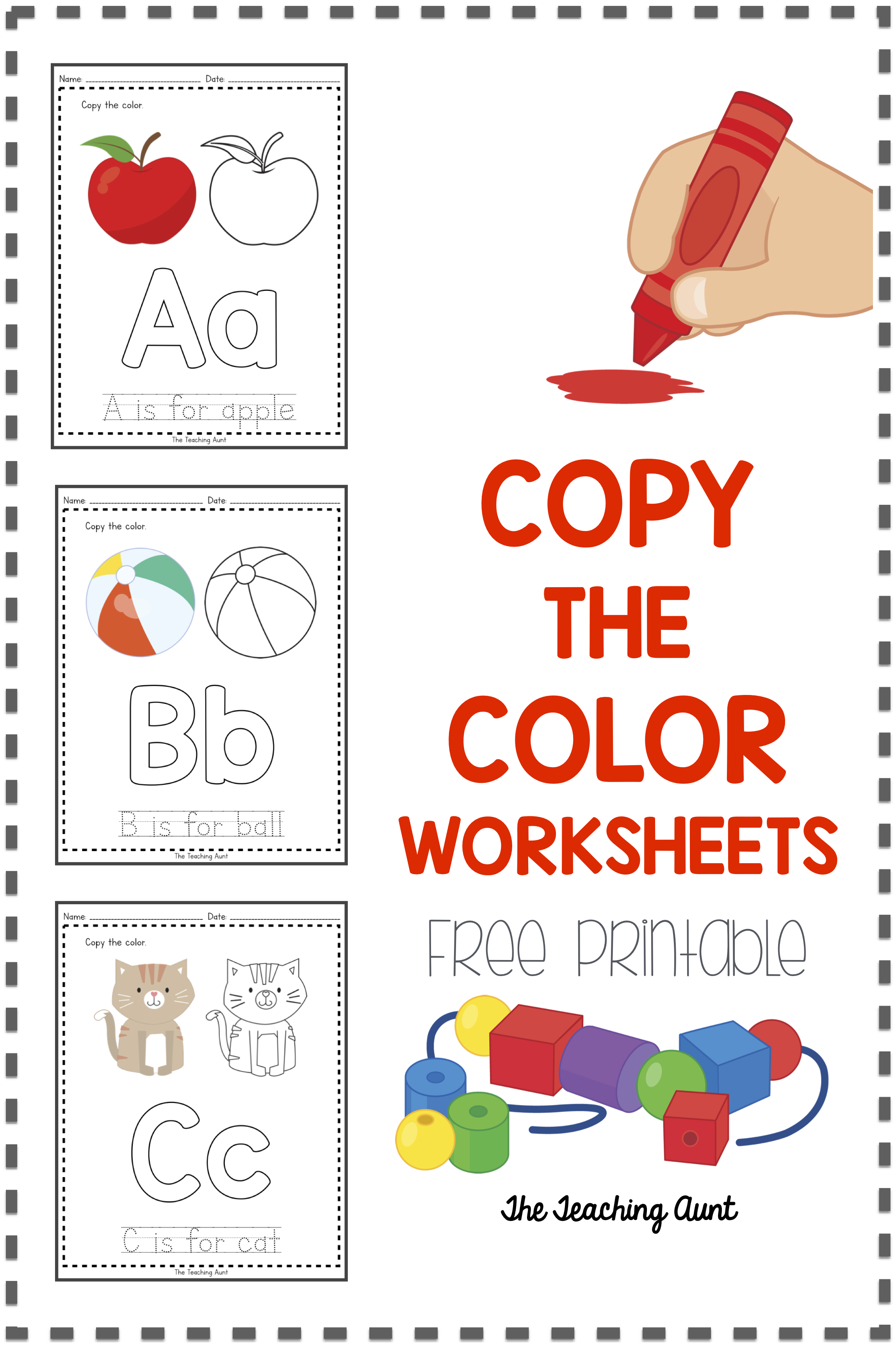 A To Z Paper Pasting Activity Collection The Teaching Aunt Free Preschool Worksheets Math Center Activities Letter Worksheets For Preschool [ 3445 x 2295 Pixel ]