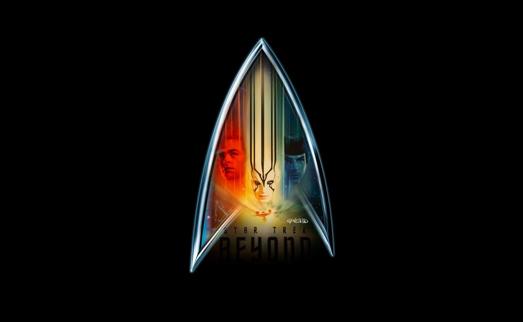 Star Trek Beyond Logo By Elclon Da3ssjn Png 1024 630 Star Trek Posters Star Trek Beyond Star Trek