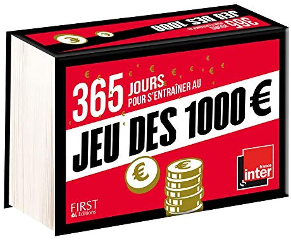 Read Book 365 Jours Pour S Entrainer Au Jeu Des 1000 Euros De Collectif In 2020 Free Reading Ebook Ebook Pdf