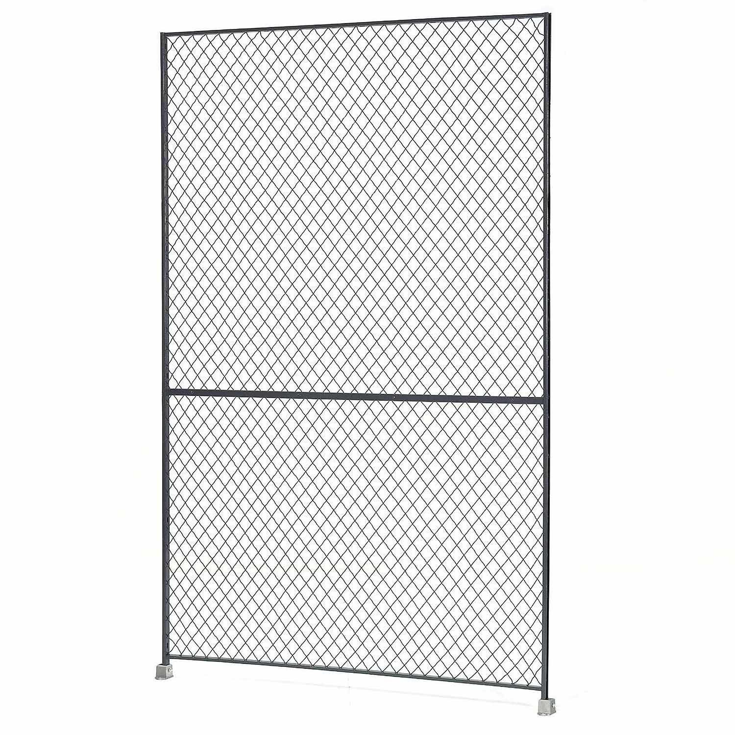 Wire Mesh Partitions Fencing Partition Security Enclosures Wire Mesh Panel 5x8 603324 Globalindustrial Com Wire Mesh Mesh Panel Wire Mesh Fence