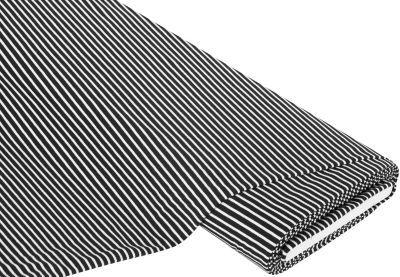 """Ringel-Jersey """"Streifen"""", schwarz/weiß € 10,95"""