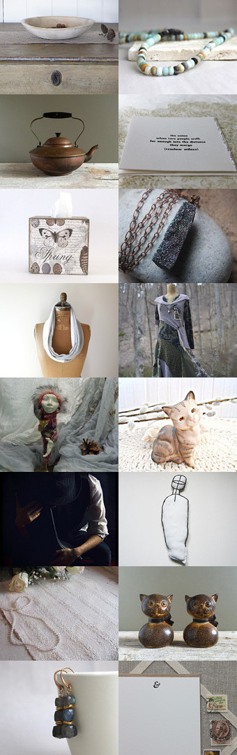 Neutrality ~ Fab Four by Julie Sumerta on Etsy--Pinned+with+TreasuryPin.com