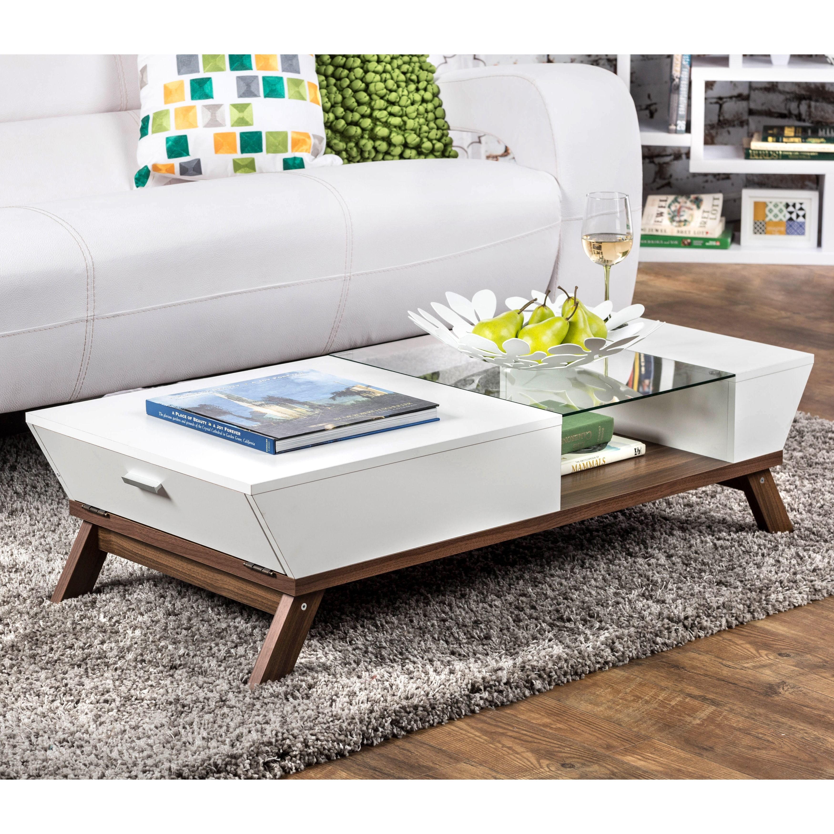 Johannesburg Coffee Table Modern Features: This Kress Coffee Table Features A Sleek Finish With A