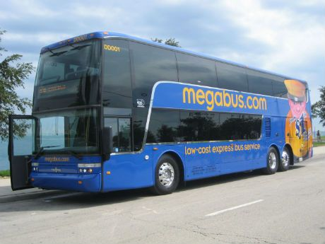 Megabus Is Coming: A Buck Can Get You to the Big D, the Big Easy and the Alamo!