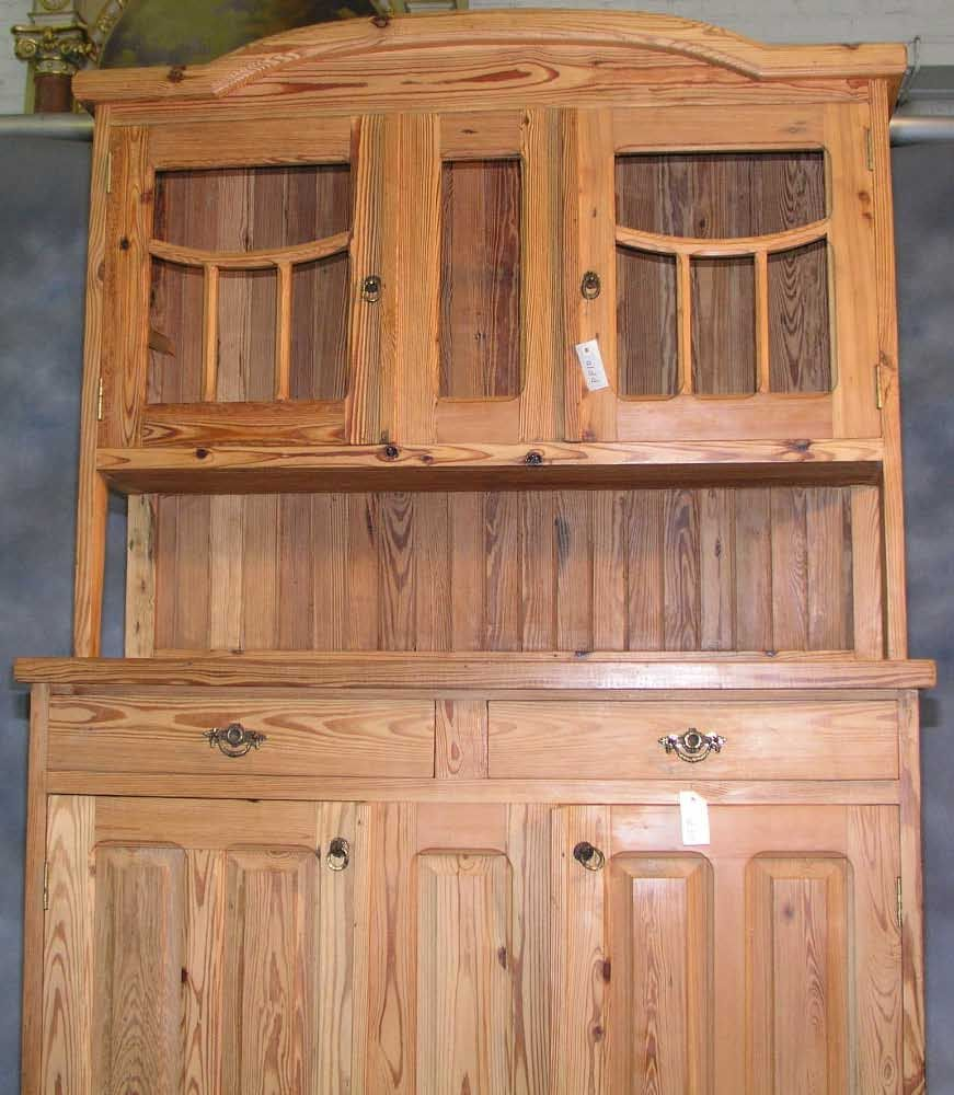 Two Piece Pine Kitchen Cupboard Architectural Salvage Online Store Buy Altered Antiques Ogtstore Com Pine Kitchen Kitchen Cupboards Architectural Salvage