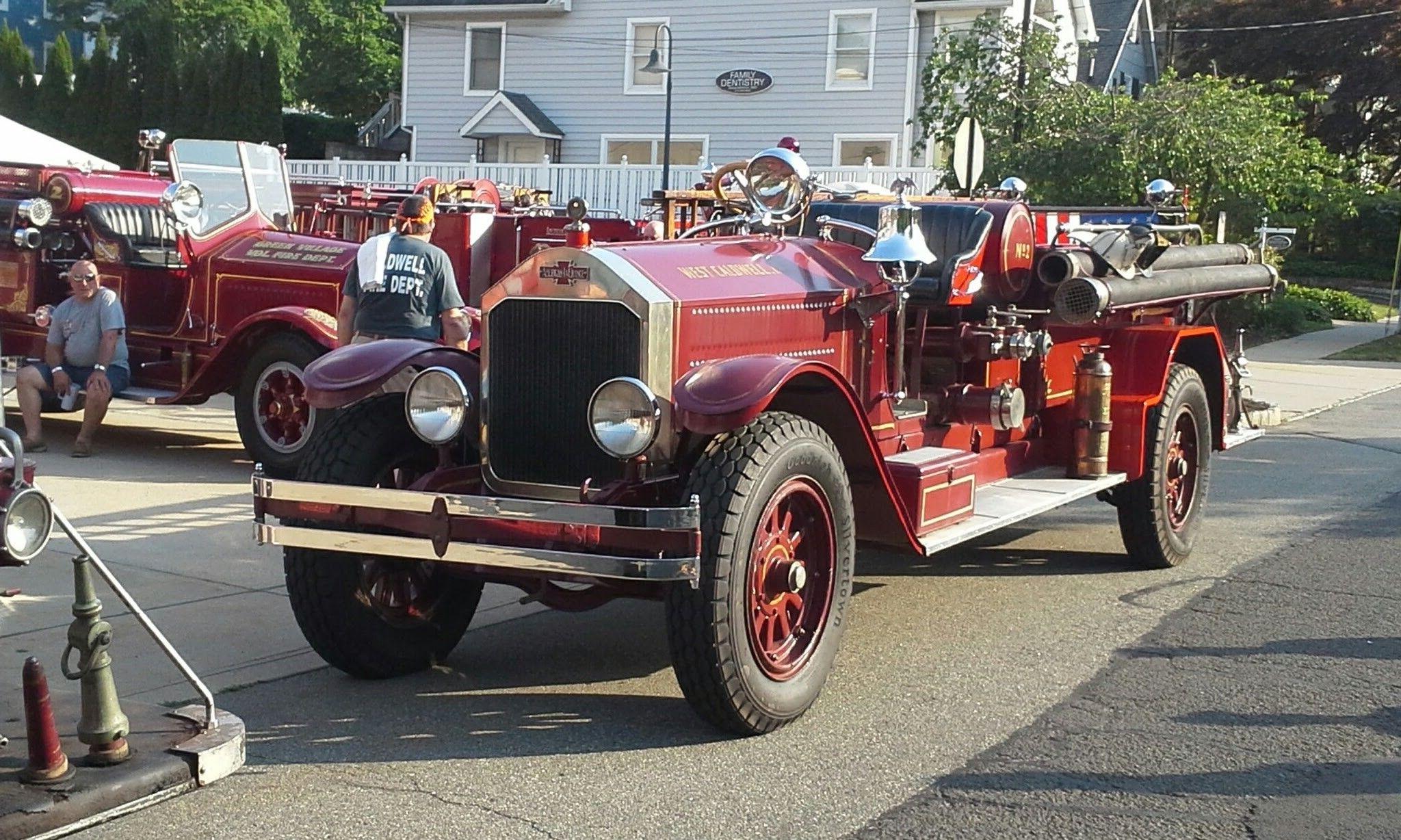 West Caldwell 1930 American Lafrance Pumper 5 15 Fire Trucks