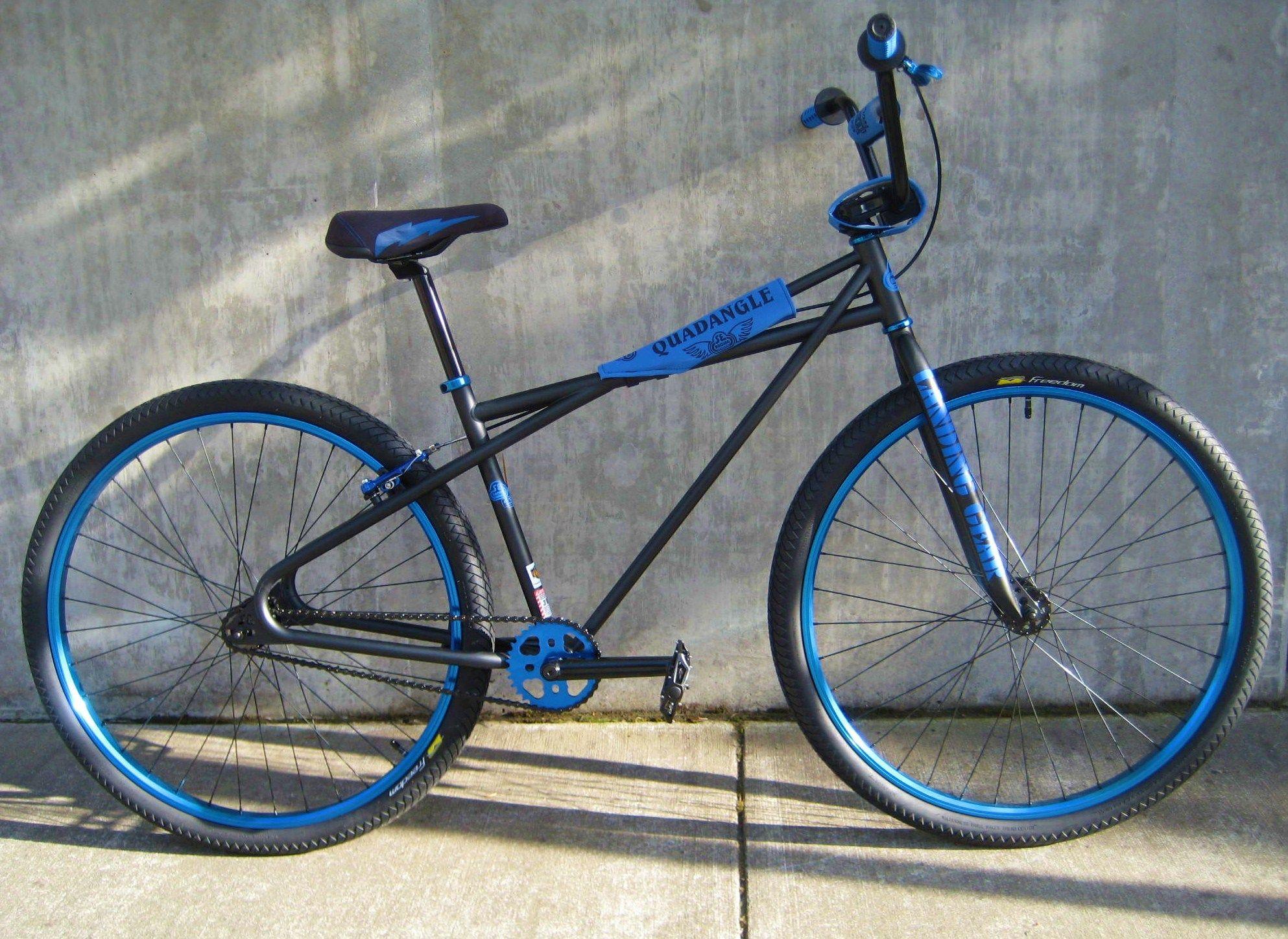 SE Racing Quadangle and Big Ripper   BMX   Bmx bicycle ...