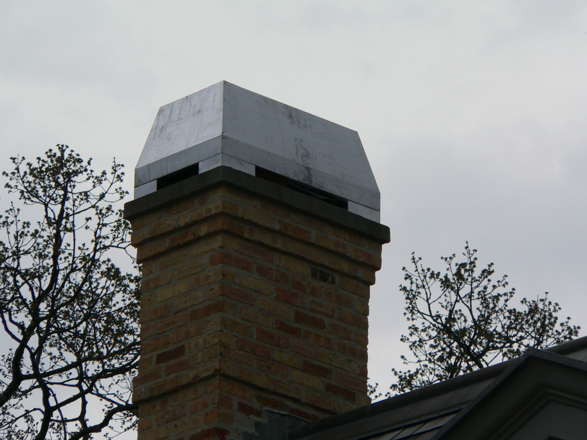 Dynasty Style Chimney Crown From Chimneyking Com Lead Cote