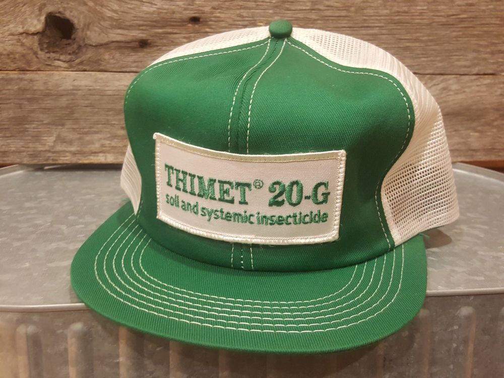 Vintage THIMET 20-G Mesh SnapBack Trucker Hat Cap Patch K Products Made In  USA  fashion  clothing  shoes  accessories  vintage  vintageaccessories  (ebay ... f1380721cac8