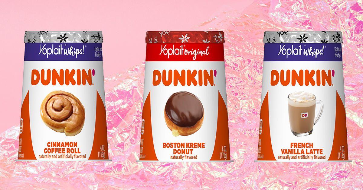 Yoplait Dropped Four Amazing Dunkin'Inspired Yogurts