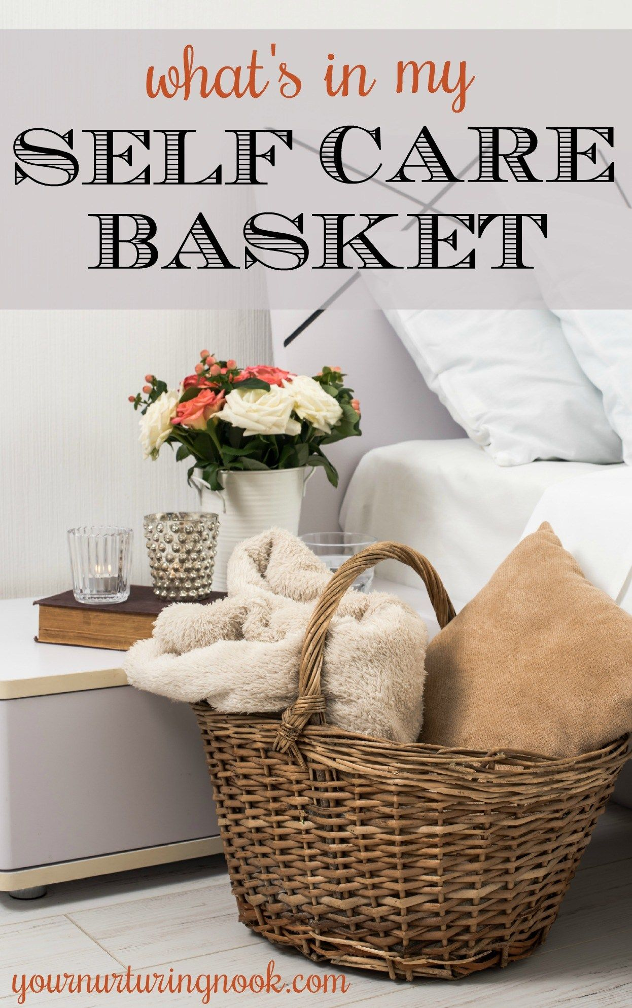 Find out whats in my self care basket for moms care