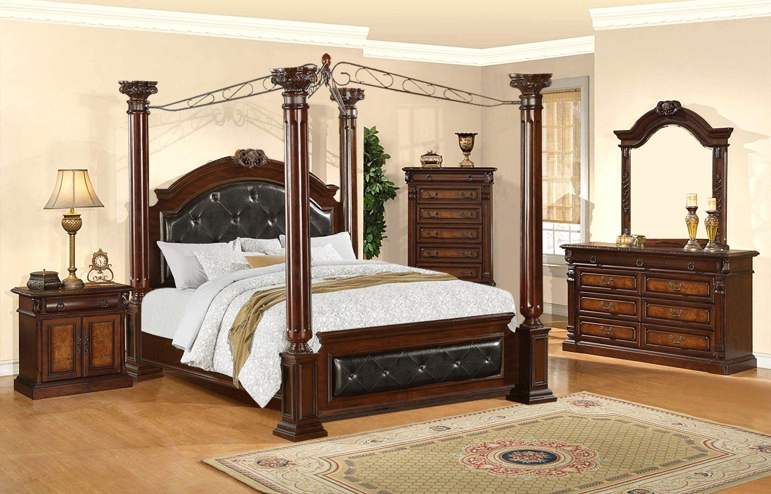 bedrooms toscano by generation trade dallas furniture outlet 1525 1885 w king - King Bedroom Sets Dallas