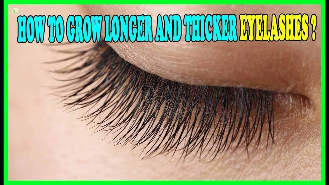 Many people want thicker eyelashes. They make a person's ...