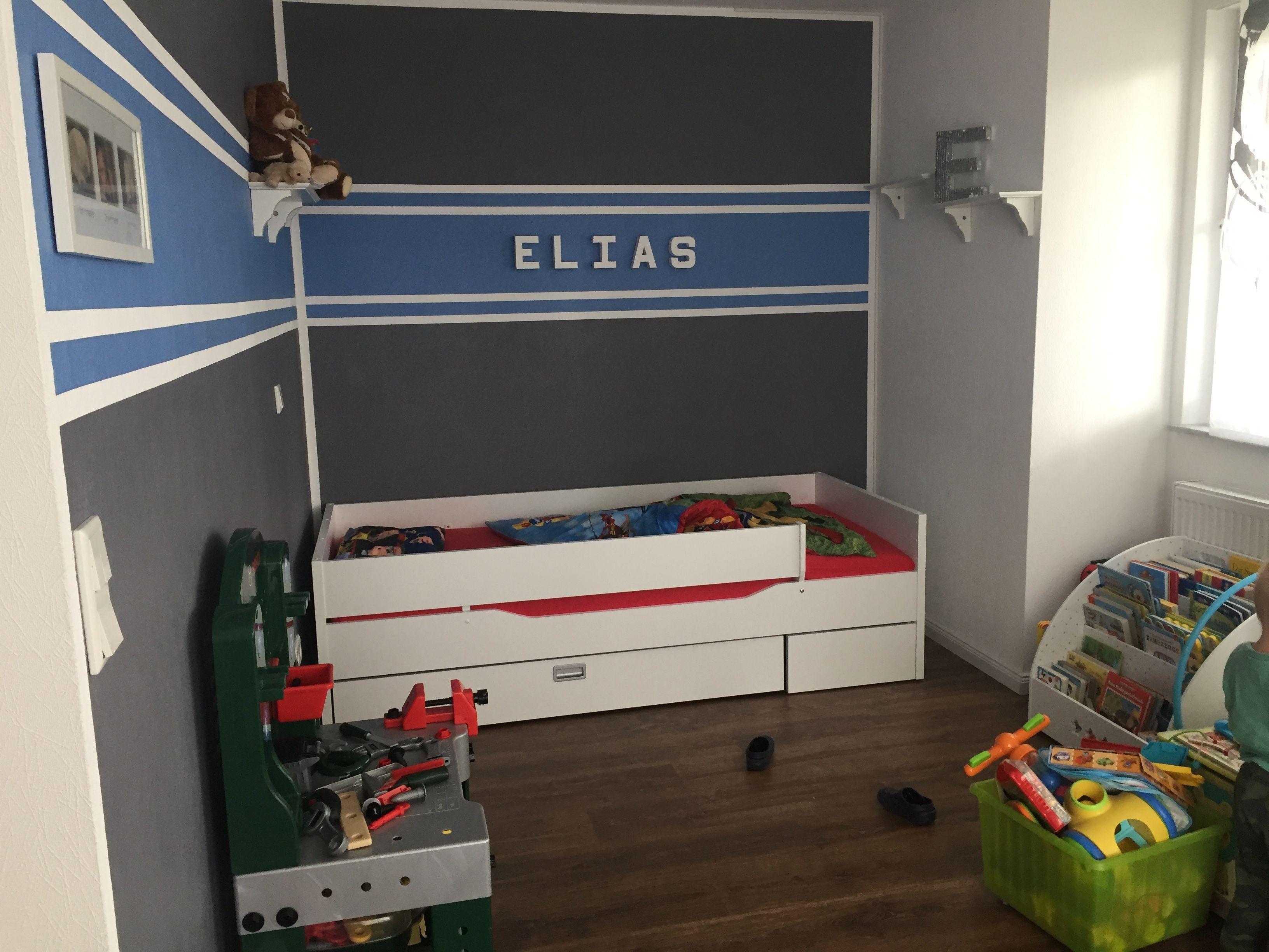 Wandfarbe Kinderzimmer Junge - Elias   Pinterest   {Wandfarbe kinderzimmer junge 23}
