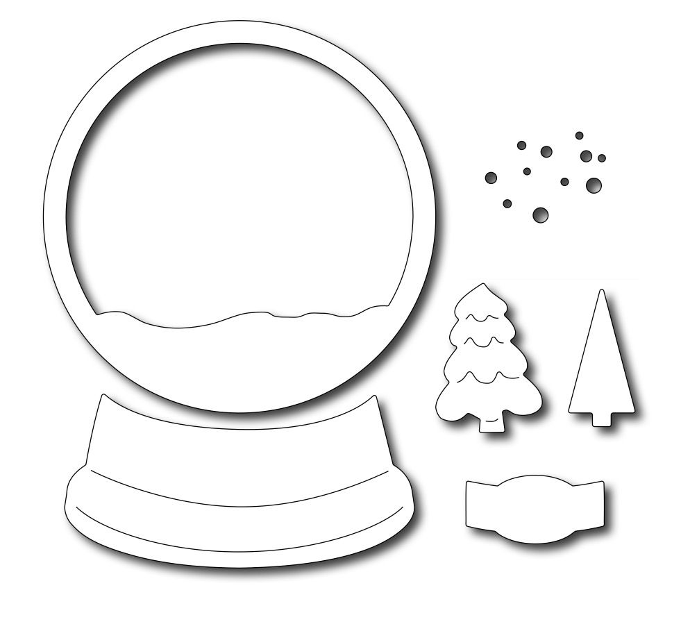 Snow Globe Base Snow Globe Crafts Diy Christmas Cards Christmas Crafts For Kids To Make