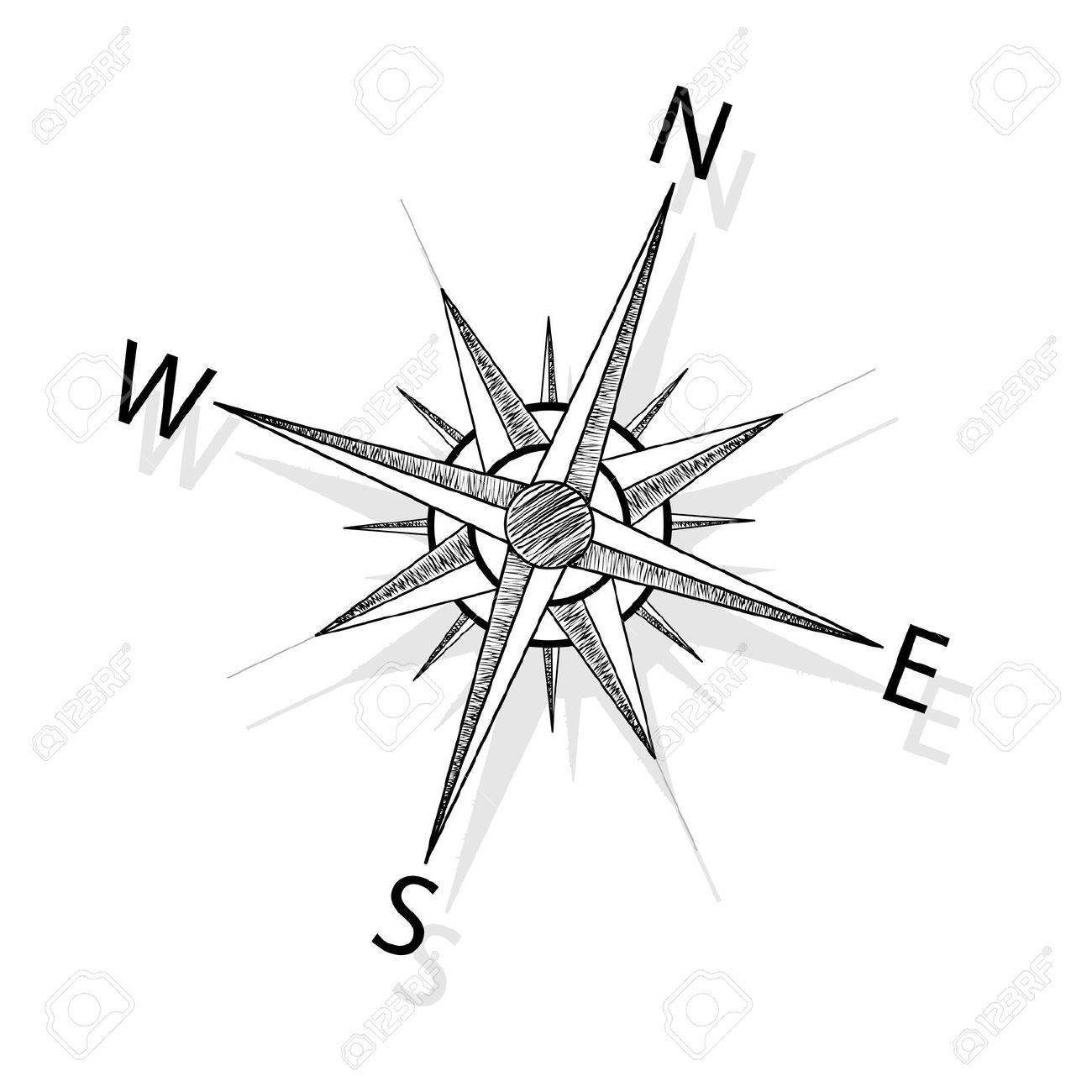 Images for compass rose drawing inspiration pinterest - Dessin de rose ...