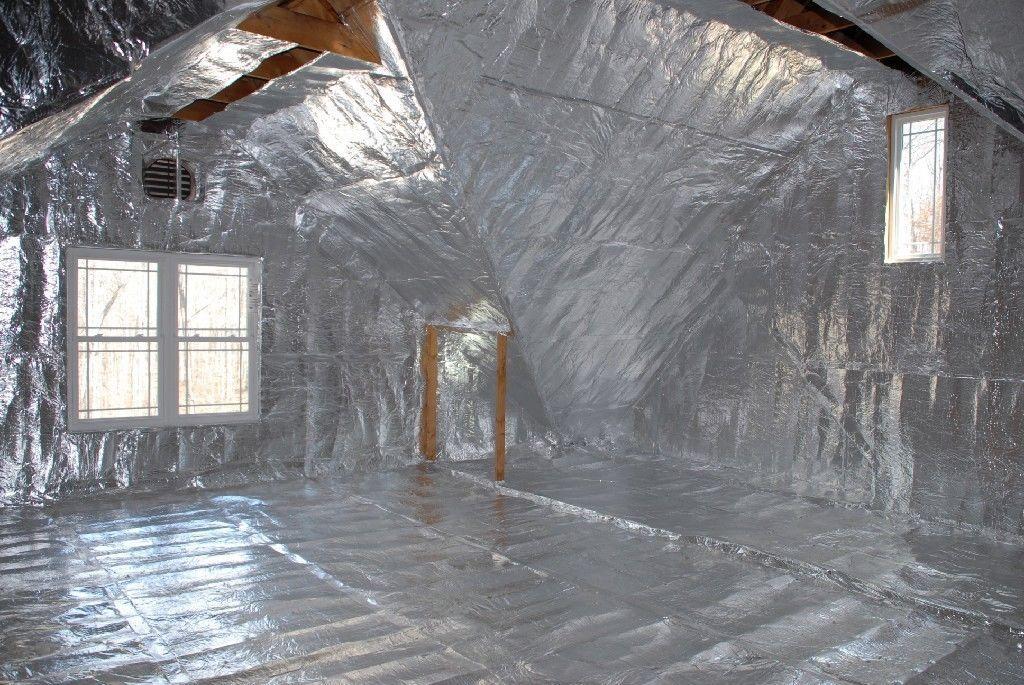 1000sqft Radiant Barrier Solar Attic Foil Reflective Nasa Insulation 2x500 Perf Ebay Attic Renovation Attic Insulation Radiant Barrier