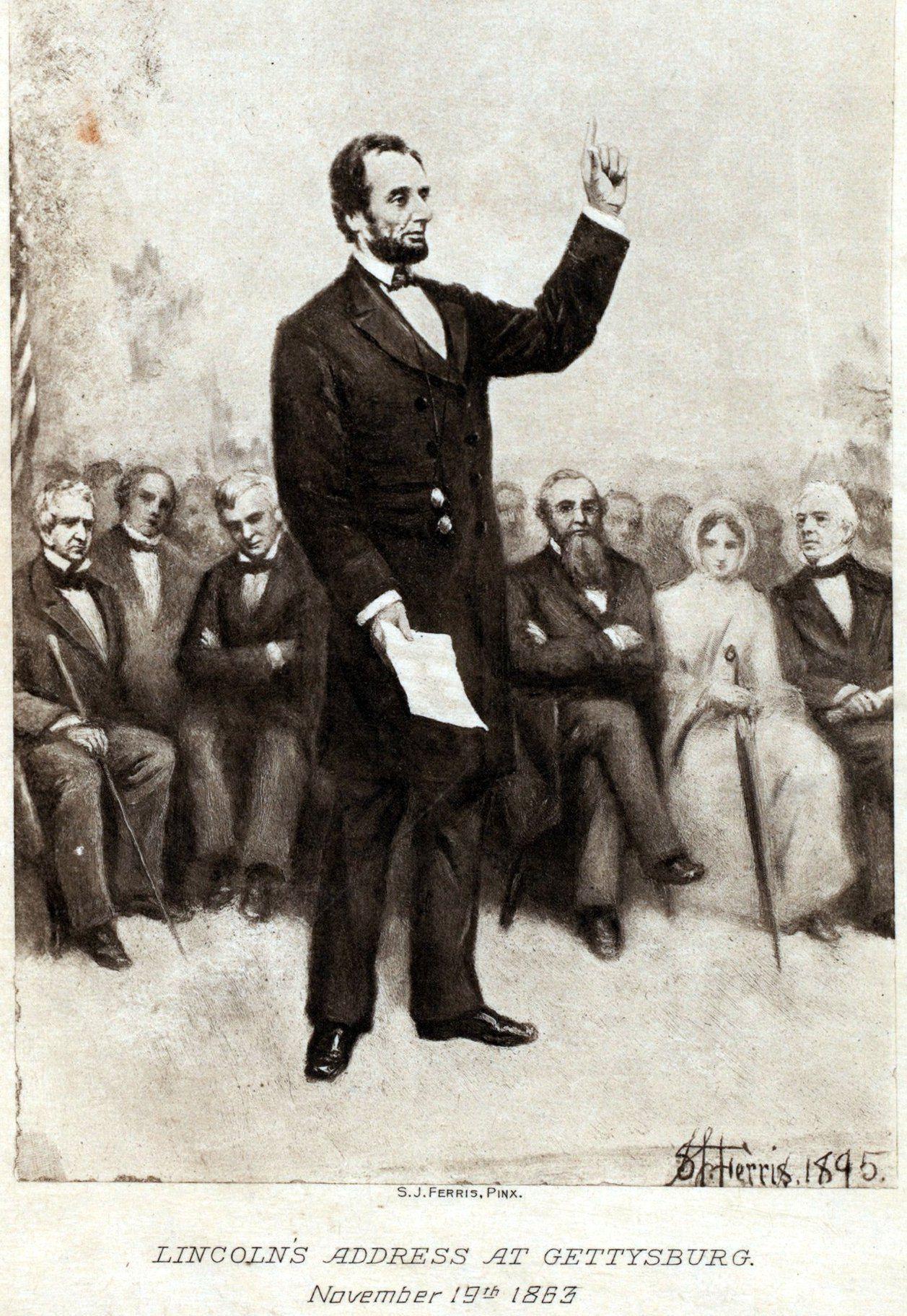 The Gettysburg Address Photosysis Amp The Full Text