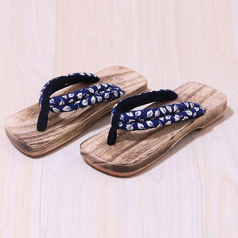 New Women's Japanese Geta Clogs Bidentate Flip Flops Sandals Slippers 10 Colors