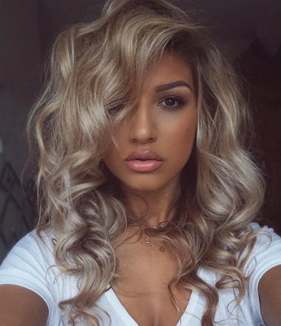 Medium blonde hairstyle hair pinterest medium blonde