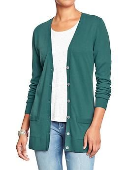 Women's Boyfriend Cardigan at Old Navy. Very comfy, soft and the ...