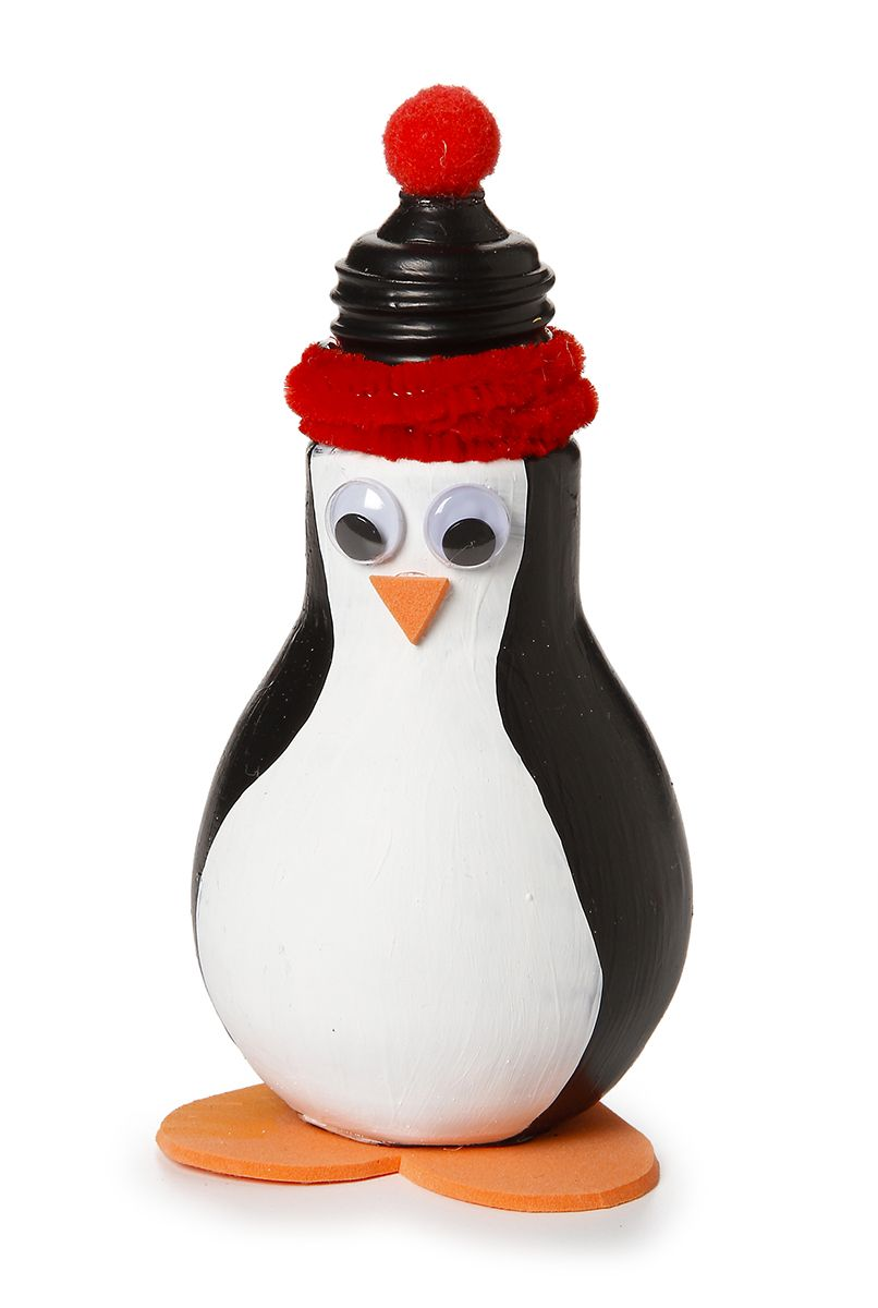 penguin light bulb from tis an ornament pinterest ampoule no l et deco noel. Black Bedroom Furniture Sets. Home Design Ideas
