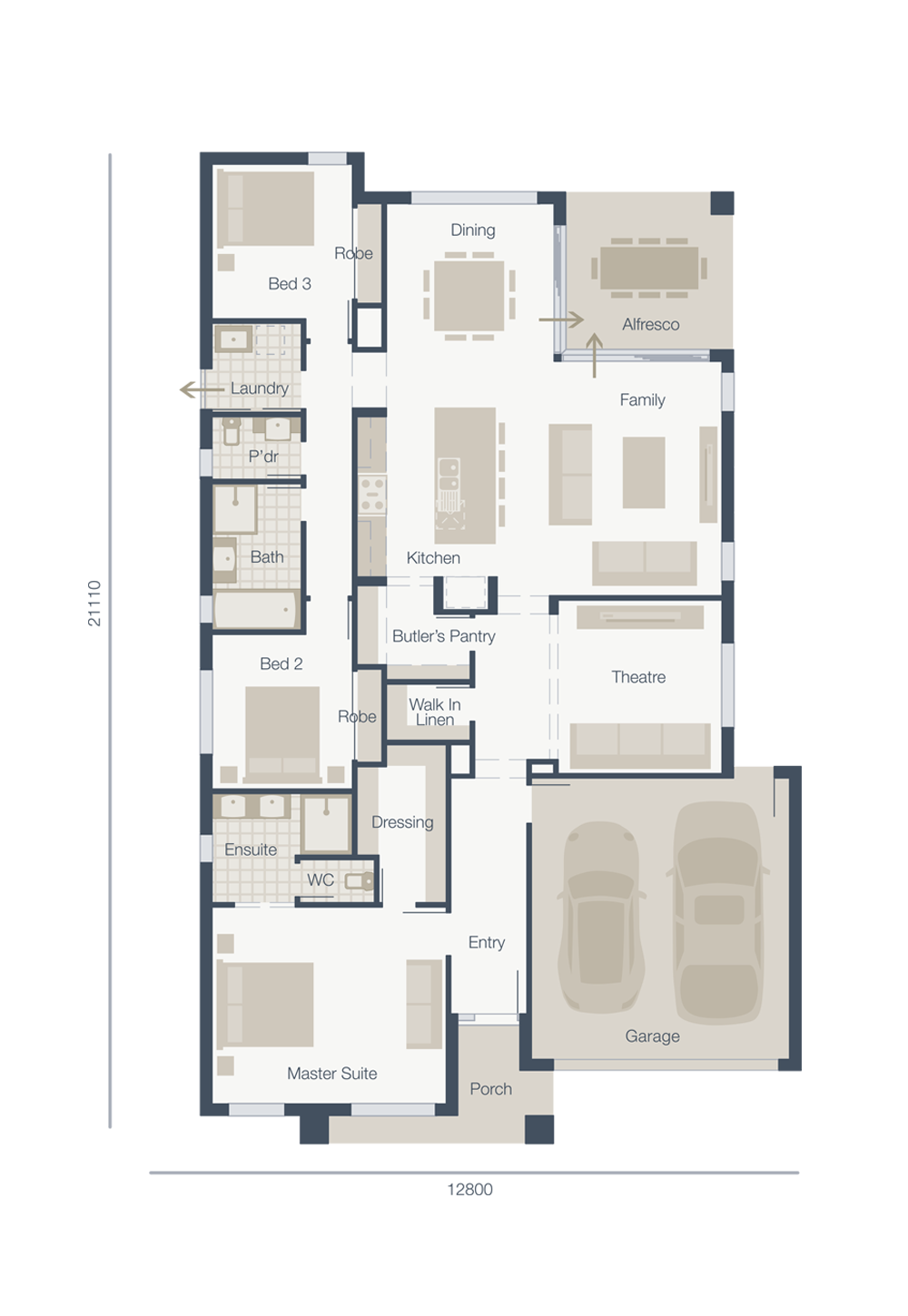 New home designs and floorplans by Melbourne home builders | house ...
