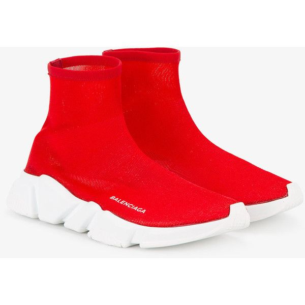website for discount price reduced hot products Balenciaga Speed Knit sock sneakers ❤ liked on Polyvore featuring ...