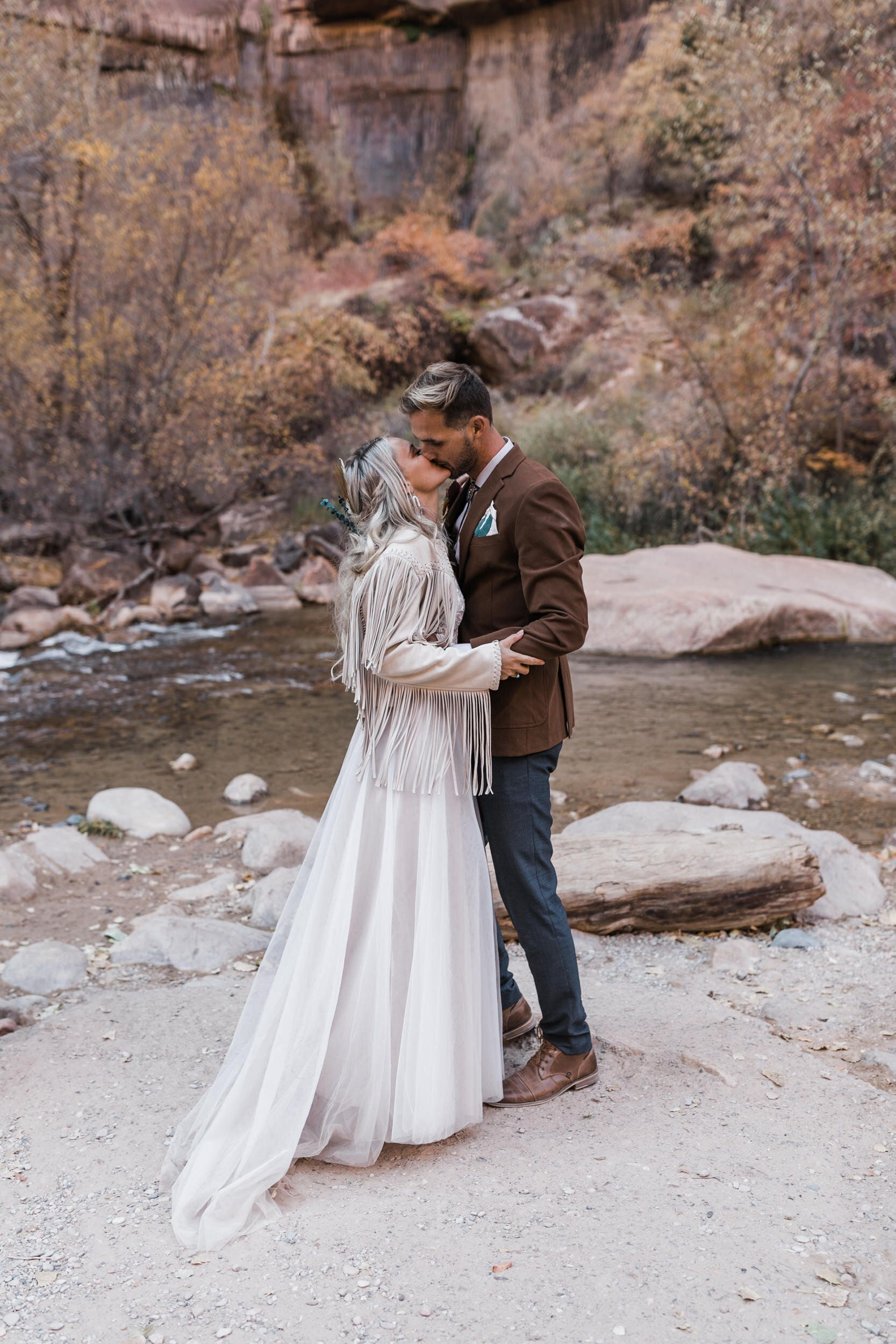 Zion National Park Wedding Under Canvas Zion And Lazalu Adventure Wedding Elopement Photographers In Moab Yosemite And Beyond The Hearnes In 2020 National Park Wedding Park Weddings Elopement Photographer