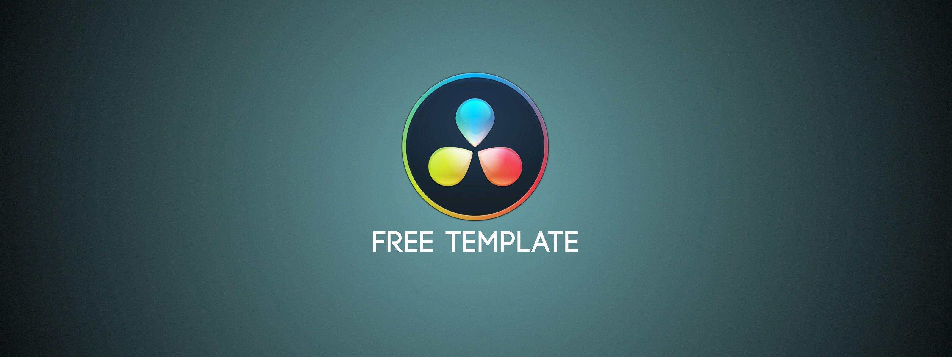 FREE DaVinci Resolve Title Template | New Tutorials And