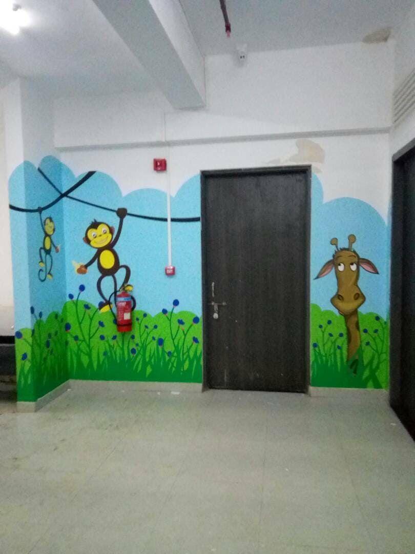 Mockingbird Studios Mumbai Customized Wall Graphics Decals Wallpapers Canvas Schools 4 Wall Graphics School Graphic